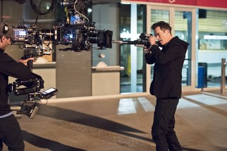 """The Flash -- """"Enter Zoom"""" -- Image FLA206A_0140b.jpg -- Pictured: Tom Cavanagh as Harrison Wells -- Photo: Dean Buscher/The CW -- © 2015 The CW Network, LLC. All rights reserved."""