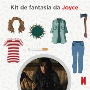 Kit de Fantasia da Joyce - Stranger Things