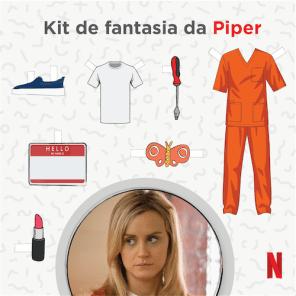 Kit de Fantasia da Piper - OITNB
