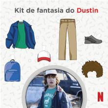 Kit de Fantasia do Dustin - Stranger Things
