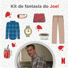 Kit de Fantasia do Joel - Santa Clarita Diet
