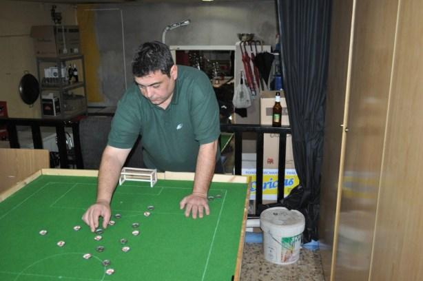 José Trilles en uno de sus últimos partidos