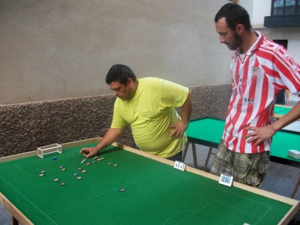 Trilles jugándose con Pablo el 3º puesto del Sharpei 2011