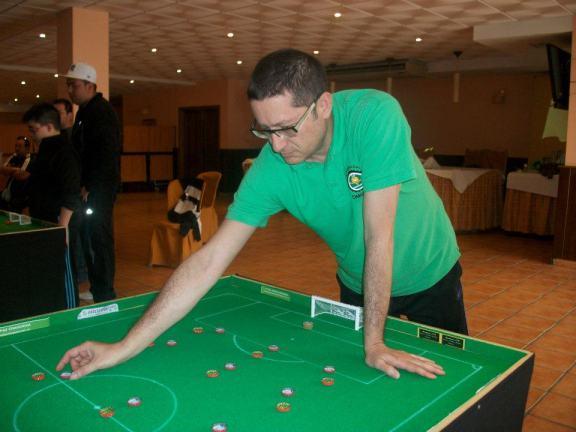 Jose Antonio jugando en el VII Campeonato de Andalucía