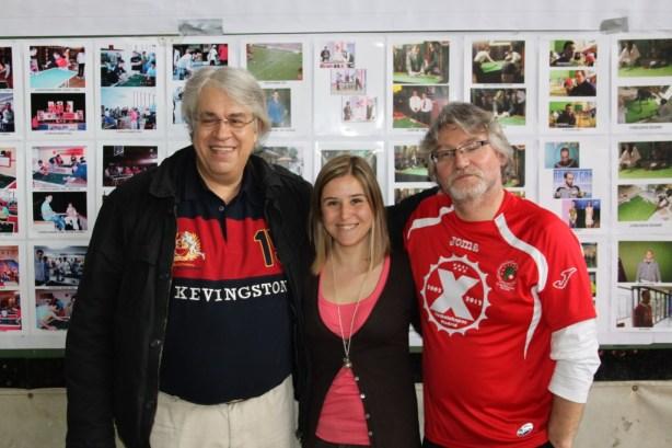 Luis Altumuro, Nuria Martín y Pedro Callado
