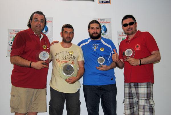Podium del V Open de San Javier