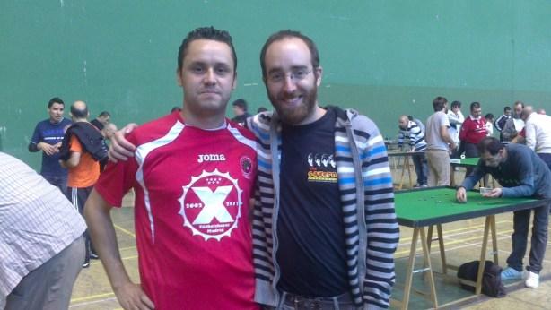 Luisja González y Diego Aguado