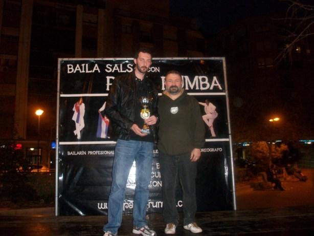 Pablo Arquimbau, campeón del V Trofeo de Navidad