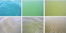 Variabilité de la couleur de l'eau