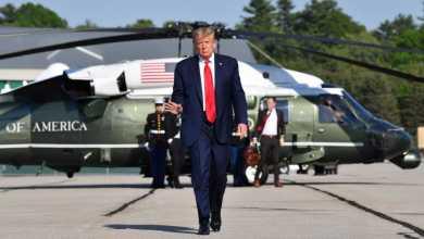 صورة ترامب يأمر بسحب الحرس الوطني بواشنطن خوف من الخروج عن الدستور والموقف العدواني في مواجهة الاحتجاجات