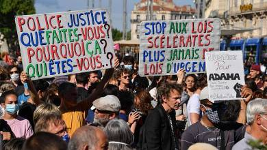 صورة تعيش المملكة المتحدة وفرنسا يومًا جديدًا متوترًا من الاحتجاجات ضد العنصرية وعنف الشرطة وماذا عن الكورونا