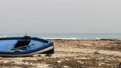 صورة لقي أكثر من 50 مهاجرا حتفهم في حطام البحر الأبيض المتوسط في قارب كان متجها من تونس إلى إيطاليا