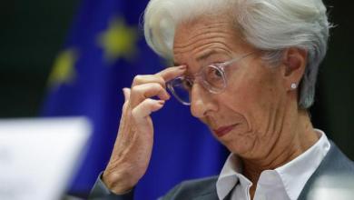 صورة رئيسة البنك المركزي الأوروبي تعتقد أن أسوأ ما في الأزمة قد مرت لكنها تتخوف من توقع انتعاشًا غير مكتمل