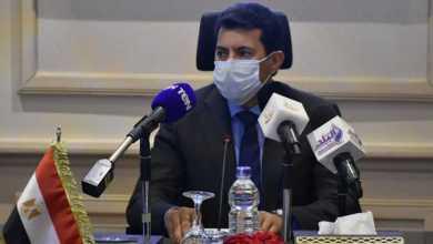 صورة د. أشرف صبحي يلتقى رئيس المجلس الدولى للرياضات والألعاب التقليدية