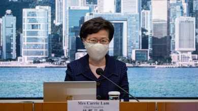 """صورة الولايات المتحدة فرضت عقوبات علي زعيمة السلطة التنفيذية التي تسببت في """"تقويض"""" استقلال هونج كونج الذاتي"""