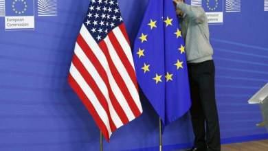 صورة الاتحاد الأوروبي والولايات المتحدة  يتفق على التخفيض المتبادل للتعريفات الجمركية على بعض المنتجات