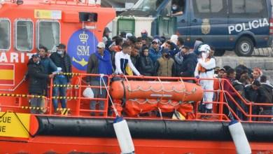 صورة وصول المهاجرين إلى جزر الكناري يستمر مع أكثر من 400 في الساعات الماضية
