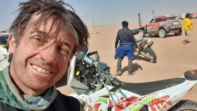 صورة الفرنسي بيير شيربين في غيبوبة مستحثة بعد حادث تحطم في داكار