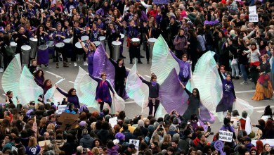 صورة محكمة العدل العليا اقرت على حظر مظاهرات 8 مارس في مدريد وما المنتظر!!