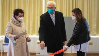 صورة يصوت الألمان في الانتخابات الإقليمية ضد المحافظين بحسب استطلاعات الرأي