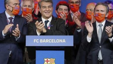 صورة فاز المحامي الكتالوني خوان لابورتا بانتخابات رئاسة نادي برشلونة انتخب كرئيسًا جديدًا للنادي