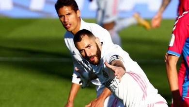 صورة الجزائري الفرنسي بنزيمة ينقذ ريال مدريد مرة أخرى