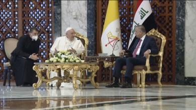 صورة البابا فرنسيس يصل إلى العراق أرض الشهداء في زيارة تاريخية تستغرق ثلاثة أيام