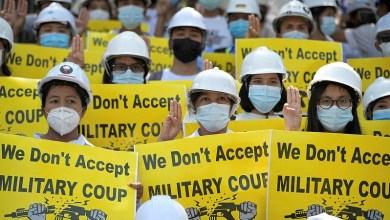 صورة الاتحاد الأوروبي يفرض عقوبات على المسؤولين عن الانقلاب في بورما