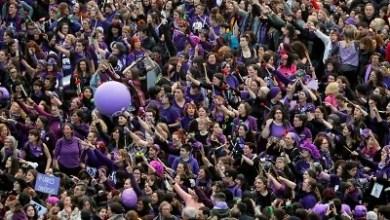 """صورة السيدة الإسبانية اقوي ومفوضية حكومة مدريد تمنع حشود مظاهرات 8 مارس يوم المرأة العالمي """"لأسباب تتعلق بالصحة العامة"""""""