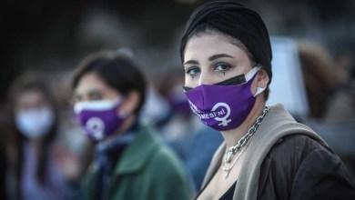 صورة وفقا لمنصة تركية أفادت أن 28 امرأة قُتلت بسبب العنف ضد المرأة في شهر مارس بعد أن انسحبت من اتفاقية اسطنبول