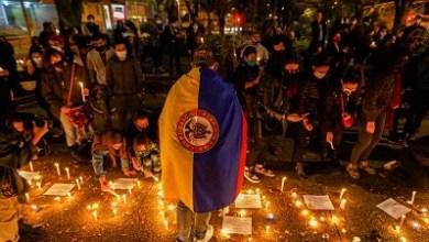 صورة الربيع الكولومبي في اطار الاحتجاجات وفقا لتقرير مشترك صادر عن مكتب المدعي العام ومكتب أمين المظالم 27 قتيلا على الاقل