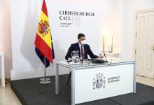 صورة رئيس الحكومة الإسبانية يشارك في القمة الافتراضية للذكرى الثانية لنداء مكافحة التطرف العنيف في الشبكات
