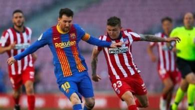 صورة برشلونة وأتلتيكو تعادل في كامب نو ويفتحان باب الدوري أمام مدريد
