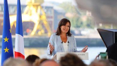 صورة المرشحة لرئاسة فرنسا في انتخابات 2022 عمدة باريس السيدة هيدالغو من أصل إسباني