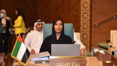صورة نائب رئيس بعثة الإمارات بالقاهرة تشارك فى أعمال الدورة ال 156 لمجلس الجامعة العربية