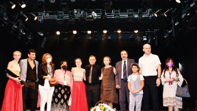 """صورة """"الطريق"""" الروسى على مسرح الهناجر"""