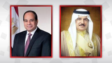 صورة ملك البحرين يهنئ الرئيس المصرى بذكرى السادس من أكتوبر المجيدة