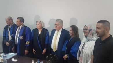 صورة جامعة الإسكندرية تمنح باحثة كردية درجة الدكتوراه فى التربية حول تحسين أداء المرشدين