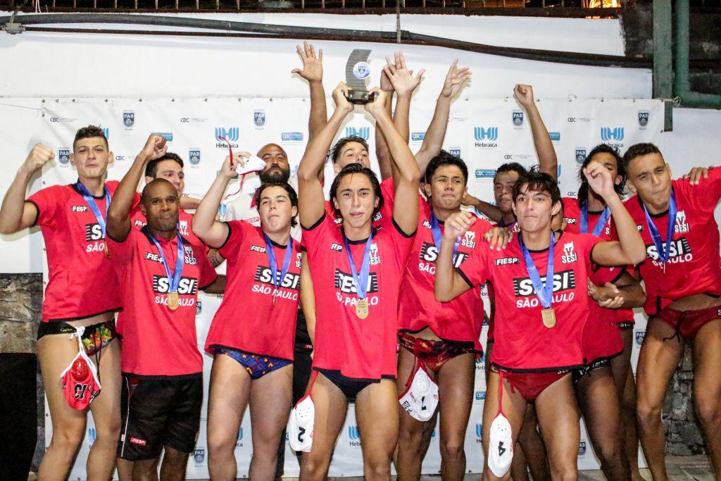 Sesi é campeão brasileiro interclubes sub-18 de Polo Aquático no masculino