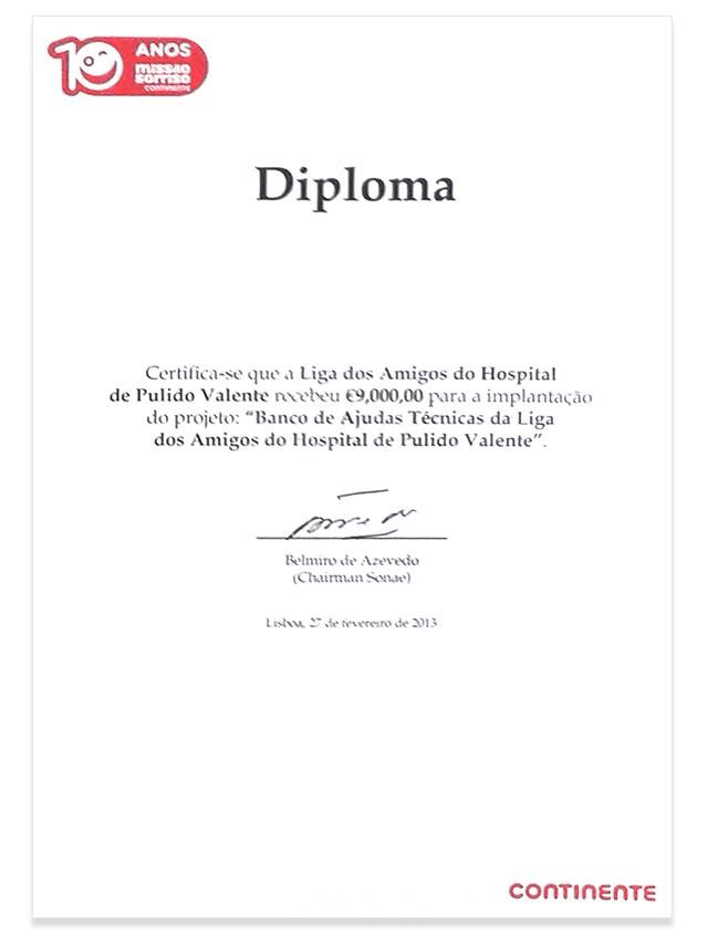 Continente-Diploma