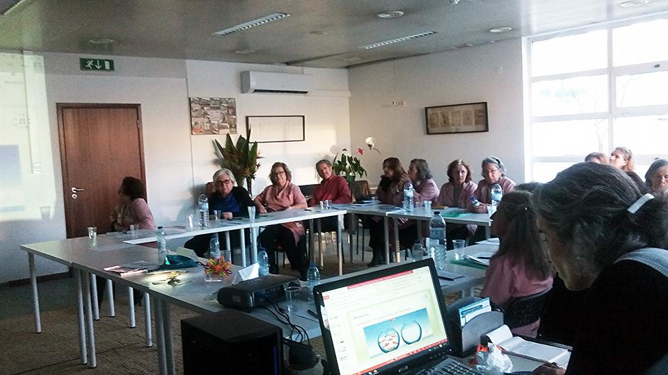 2º módulo de formação do voluntariado da LAHPV