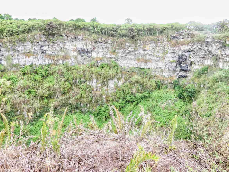 los gemelos en santa cruz en galápagos