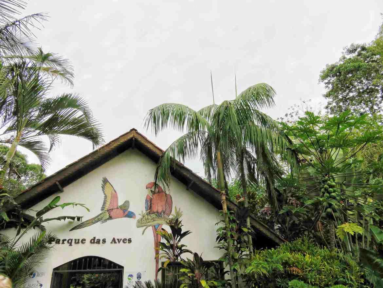 Parque de las aves en Foz do Iguaço