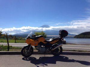ツーリング バイク FX トレード 富士山 山中湖 トレーダー