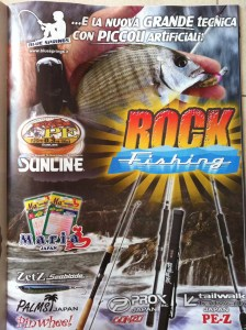 Rockfishing Magazine Advert in Italy