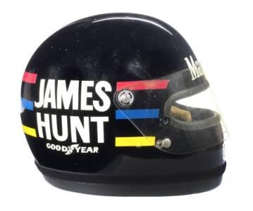 James Hunt 1976 Helmet - Bell Star Small Window