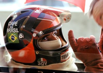 Emerson Fittipaldi - AGV - 1974 Italian GP