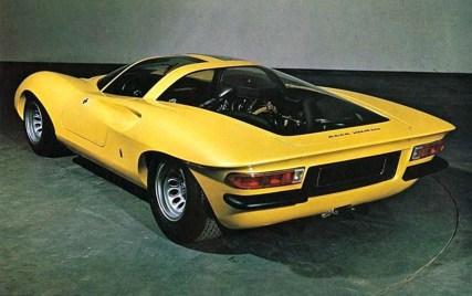 1969 – Alfa Romeo Tipo 33-2 Coupe Speciale Pininfarina