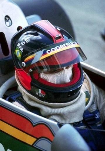 Emmerson Fittipaldi - AGV X-1 Cafe Brasil Copersucar - 1976 Kyalami South African GP