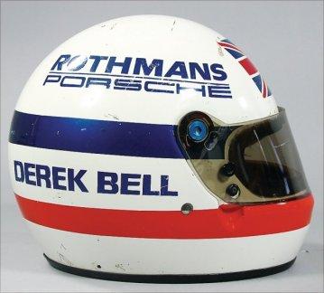 35 - Derek Bell Helmet